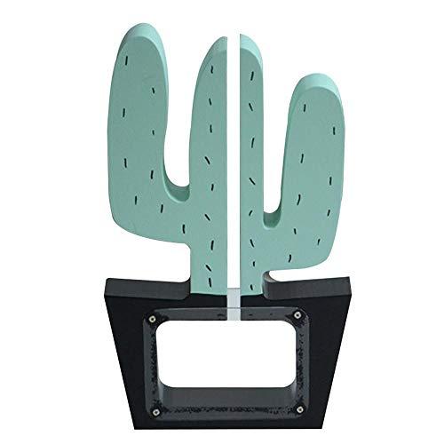 Houten geld doos cactus decoratie piggy bank cadeau voor kinderen gift kerst decoratie munt bank