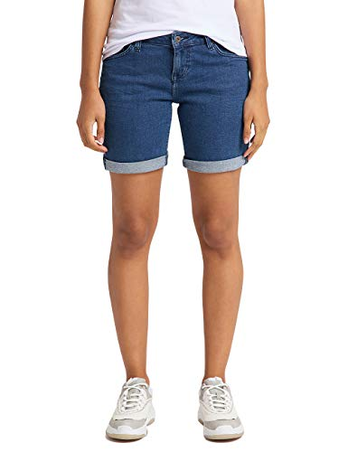 MUSTANG Damen Regular Fit Bermuda Jeans
