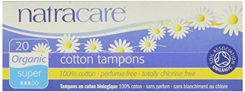 Natracare Tampons Super 20 Ct, 4 Pack by NATRACARE