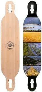Woodstock Mojo Bamboo Drop Through 41.5 Inch Longboard Deck 2016
