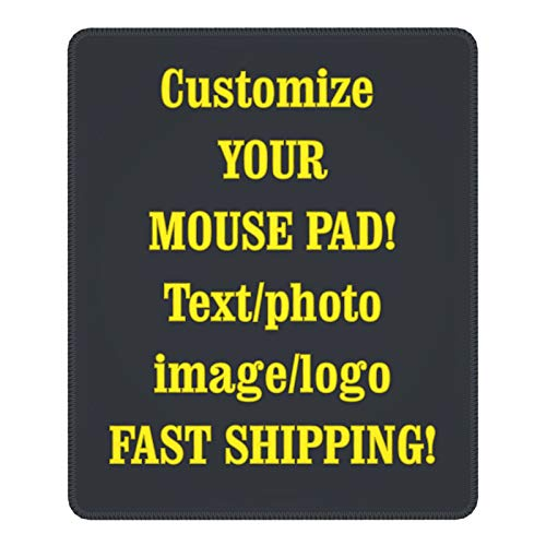Custom Mouse Pad,Custom Gaming Mouse Pad Custom Mouse Pad with Photo,Customized Mouse Mat for Office Dorm Computer Laptop Travel