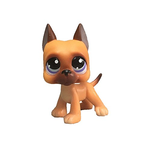Meetsunshine LPS Figure Toy,2.5 inches Collie Dog Child Girl Figure Toy Loose Cute Doll
