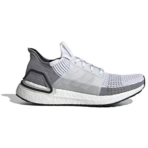 adidas Women's Ultraboost 19, Crystal White/Grey, 8.5 M US