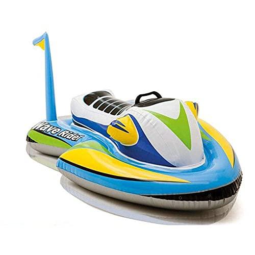 XiYou Piscina Inflable Cama Flotante Hogar Multifuncional Hamaca de Agua Piscina Balsa Inflable Piscina Luz de Aire Silla Flotante Estera de Piscina portátil