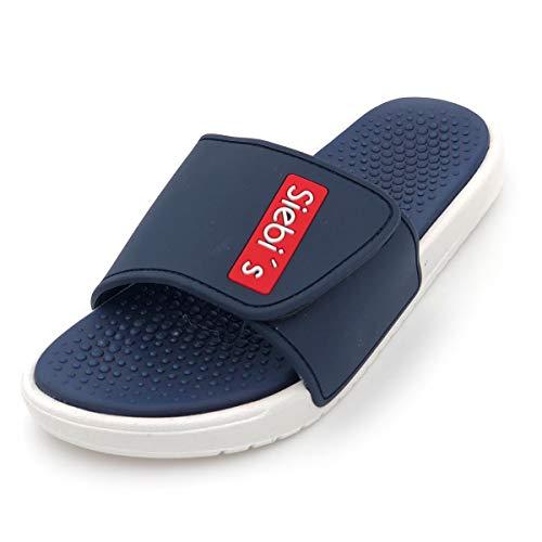 Siebi's Wellness und Spa Schuhe Slides Spa-M (Navy, 42)