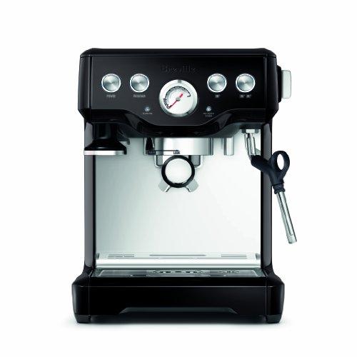 Breville BES840BSXL Infuser Espresso Machine, Black Sesame, 2.3