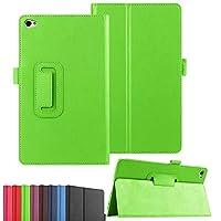 """docomo dtabコンパクトd-02hケース極薄フォリオスタンドPUレザーケース(Huawei MediaPad M2 8.0用)M2-801W M2-803L 8"""" (Green)"""
