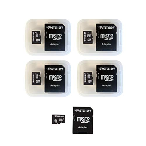 Our #6 Pick is the Patriot LX Series 32GB Micro SDHC Card (5 Pack)