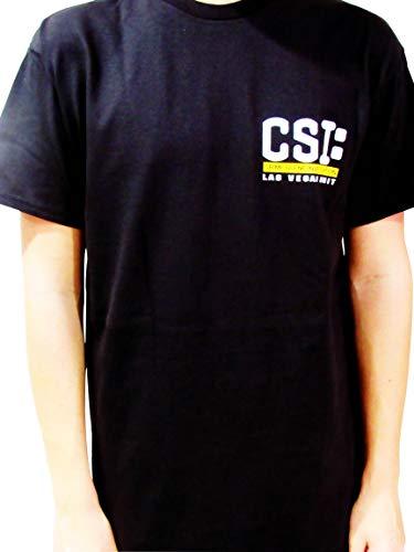 Las Vegas Crime Scene Investigation Unisex T-Shirt (XL, Black)