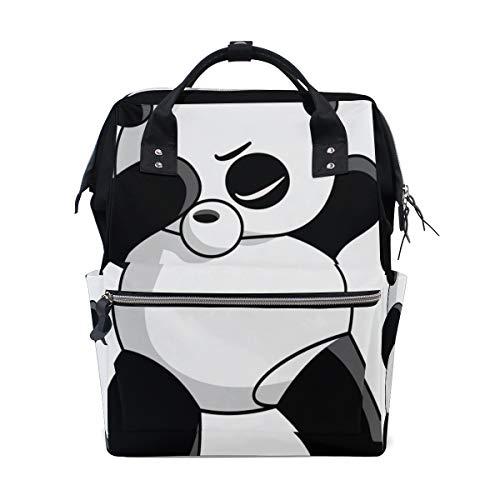 Tupfenden Chinesischen Panda Dance Große Kapazität Windel Taschen Mummy Rucksack Multi Funktionen Windel Pflege Tasche Tote Handtasche Für Kinder Babypflege Reise Täglichen Frauen