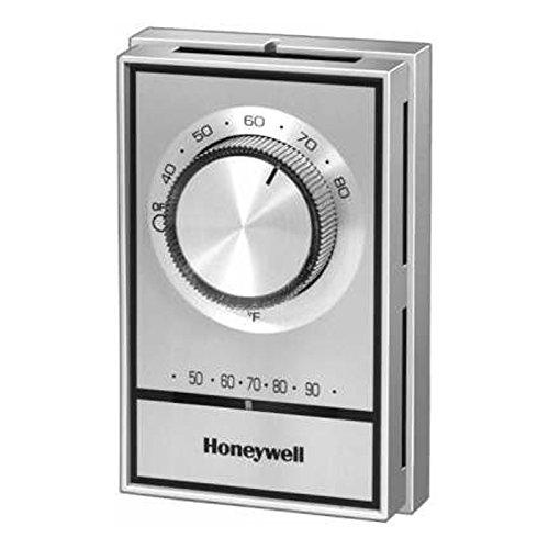 Honeywell T498B1553 termostato eléctrico de calor, SPST, 40 F a 80 F