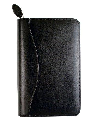Day-Timer Starter Set Organizer, Bonded Leather, Potable Size, Black (D41746)