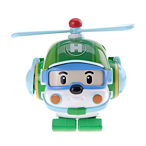Ouaps-83096-Deluxe Robocar Poli Jouet De Premier Age-Robocar Véhicule Transformable-Heli