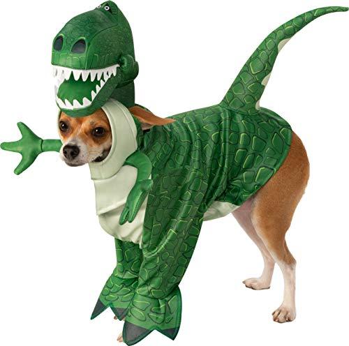 Rubie'S Disfraz Oficial de Disney Toy Story Rex para Perro, Disfraz de Perro, tamaño Grande, 200 g