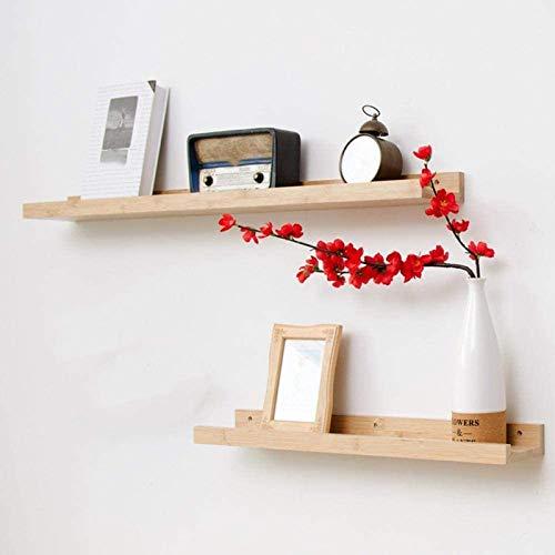 DGDF Estante flotante de madera de pino macizo, estante rústico montado en la pared, soporte oculto, organizador de almacenamiento colgante, estante de exhibición (15 pulgadas, 4 pulgadas)