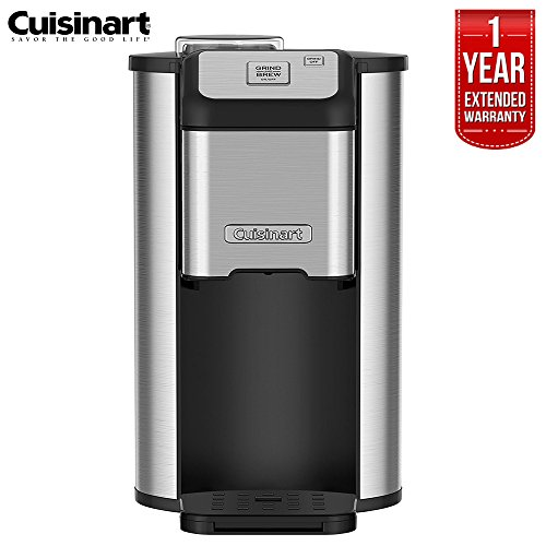 Cuisinart DGB-1FR Single Cup Grind and Brew Ground Coffee Maker (Renewed)