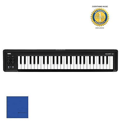 korg midi keyboards Korg microKEY air 49 - Key Bluetooth and USB MIDI Controller