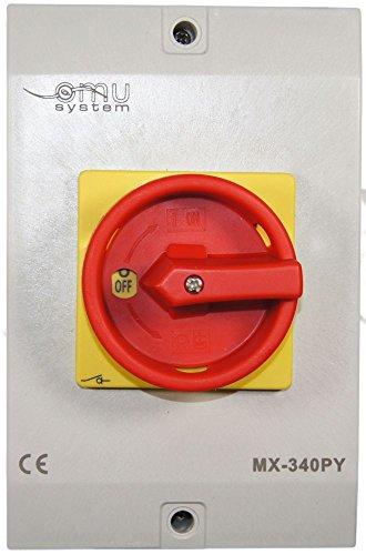 40A Hauptschalter Lasttrennschalter Not-Aus-Schalter MX340PY