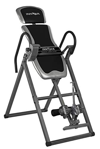 Innova Health and Fitness Innova ITX9688 Heavy Duty Inversion Table with Adjustable Headrest & Protective Cover