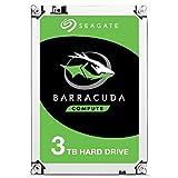 Seagate BarraCuda, 3 TB, Disco duro interno, HDD, 2,5' SATA 6 GB/s, 7200 RPM, caché de 64 MB para ordenador portátil y PC (ST3000DM008)