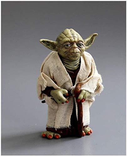 lkw-love Figura de acción Juguetes Modelo Marvel Star Wars Yoda Darth Modelado Escultura Adornos Colección Adulto Niños Juguetes Niños Regalos 13 cm Decoración de Estatua de Juguete