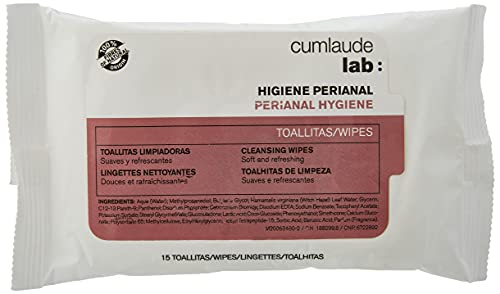 CUMLAUDE Lab - Toallitas Limpiadoras Para La Higiene Rectal Y Perianal - 5 Toallitas (d420d90)
