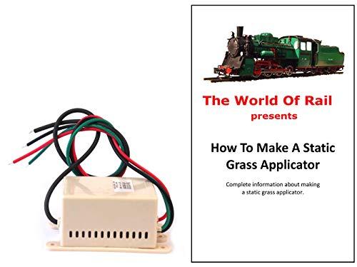 Negative Ion Generator for Static Grass Applicator 12vDC