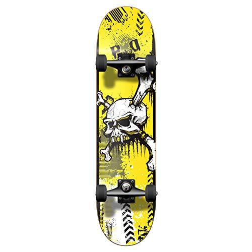 Yocaher Skateboards Skateboard Skull Series Graphic Complete 19,7 cm – YSKULL