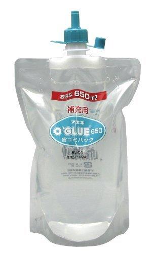 不易糊 オーグルー補充液 省ゴミパック650ml GHS65 00038575 【まとめ買い5個セット】