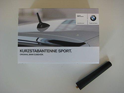 BMW Original Sports Rod teléfono + Radio Antena/Antena 105mm (65202296761)