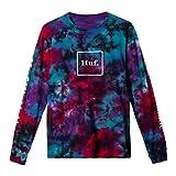 HUF Prism Wash Domestic L/S Limited Edition 2021 - Camiseta de manga larga multicolor XL