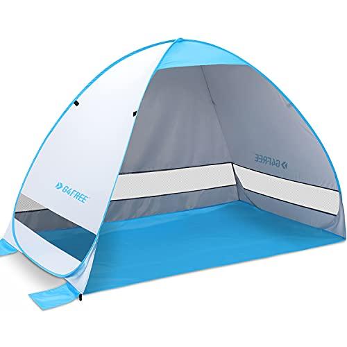 G4Free Large Pop up Beach Tent Automatic Sun ...
