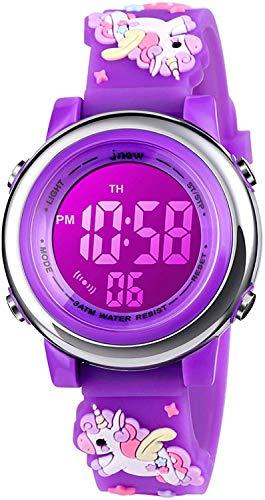 Orologio bambina ragazze Zeiger Orologio impermeabile Time Teacher al quarzo orologi per bambini gemelli ragazze Orologio sportivo per ragazzi ragazze per 5-12 anni (Mint-Verde)