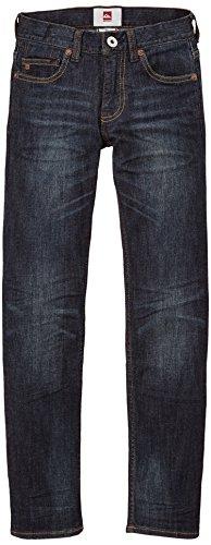 Quiksilver - Jeans - Uni - Garçon - Bleu (Dark Vintage) - FR: 10 ans (Taille fabricant: 10 ans)