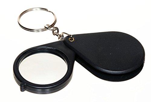 SE - Magnifier - Folding with Keychain, Black, 5x - MI118B72-1