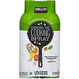 Kirkland Signature Canola Oil Cooking Spray 2-397g (14 oz) Cans (2 x 397 g (14 oz))