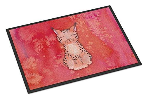 Caroline 's Treasures Lynx Watercolor Fußmatte, 45,7x 68,6cm Multicolor