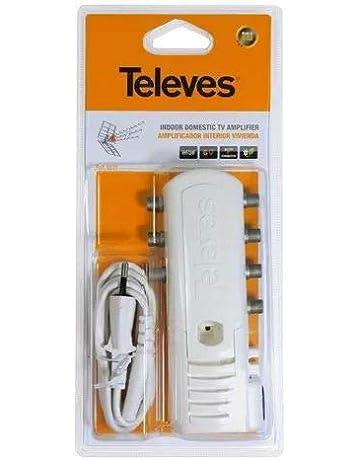 Televes 5531 - Amplificador vivienda 1e/6s f 47-862mhz 16db ...