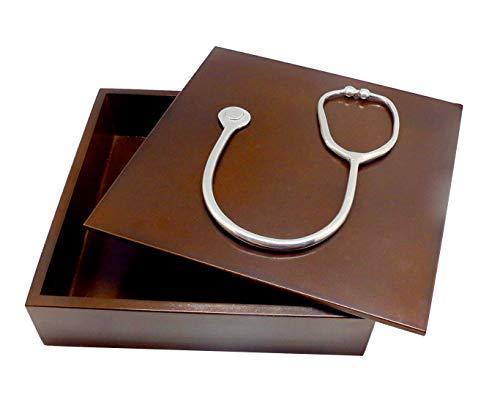 Caixa Decorativa, Medicina, Imbuia, Sarquis Samara
