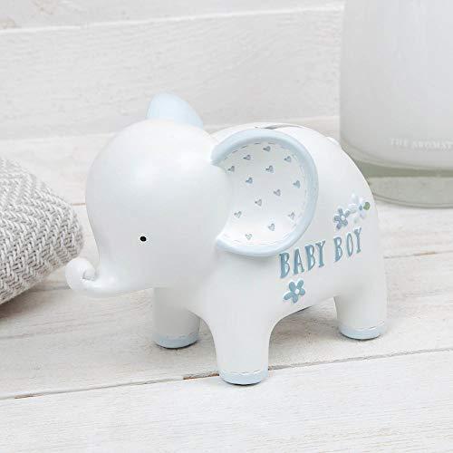 Petit Cherie mooie baby jongen geld doos cadeau olifant ontwerp
