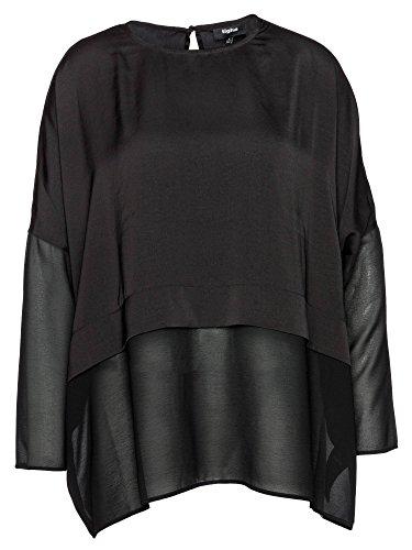 Tigha Damen NICI Langarmshirt, Schwarz (Black 900), 38 (Herstellergröße: M)