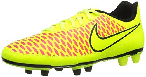Nike Magista Ola Fg 651343-770 Herren Fußballschuhe Training Grün (Volt/Volt-Black-Hyper Punch) 45