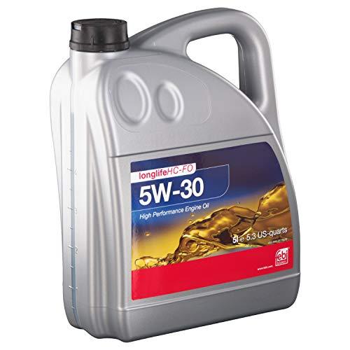 febi bilstein 101152 Motoröl SAE 5W-30 HC-FO , 5 Liter