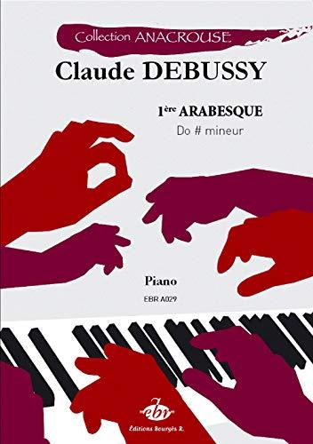 Claude Debussy-1ère Arabesque-Klavier-BOOK