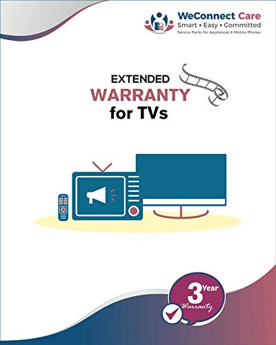 WeConnect Care - 3 Years Extended Warranty for Kevin LED TVs (49...