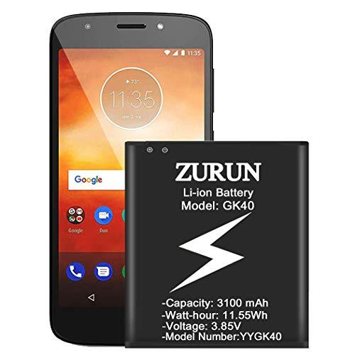 Moto G4 Play Battery, ZURUN 3000mAh GK40 Battery SNN5976A Replacement for Motorola G4 Play XT1607, Motorola Moto E4, XT1767PP(Verizon), XT1766(Sprint/Boost Mobile),XT1765