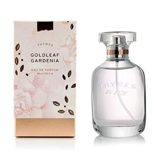 Thymes - Goldleaf Gardenia Eau de Parfum - Light Floral Scented Perfume - 1.75 oz