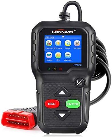 KONNWEI OBD2 Diagnostic Tool Car Code Reader KW680 Enhanced Check Engine Light Scan Tool OBD product image
