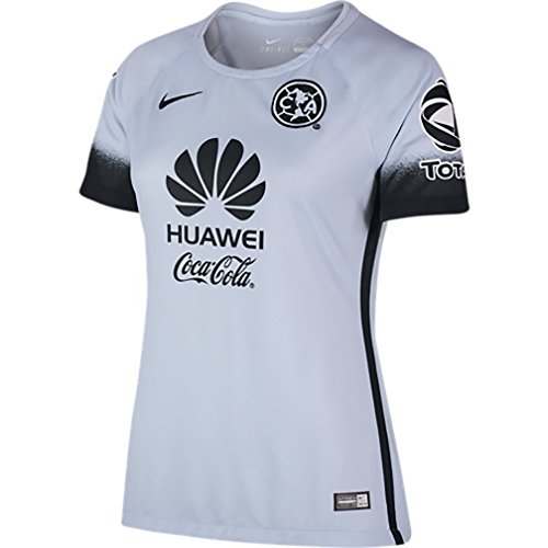 Nike Womens Club America 15/16 Third Porpoise/Black Jersey - S