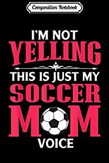 Composition Notebook: I'm That Crazy Girl Who Loves Soccer  Journal/Notebook Blank Lined Ruled 6x9 100 Pages